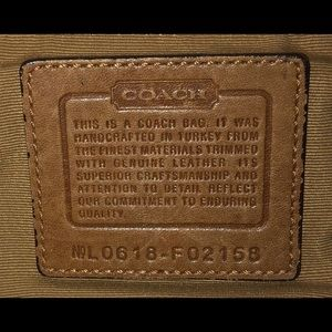 Coach Bags - Brown Coach Purse authentic